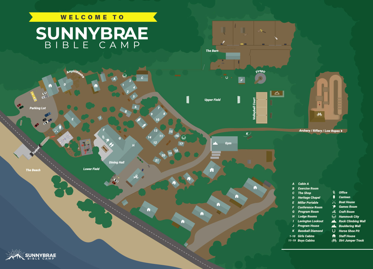latest map of camp property